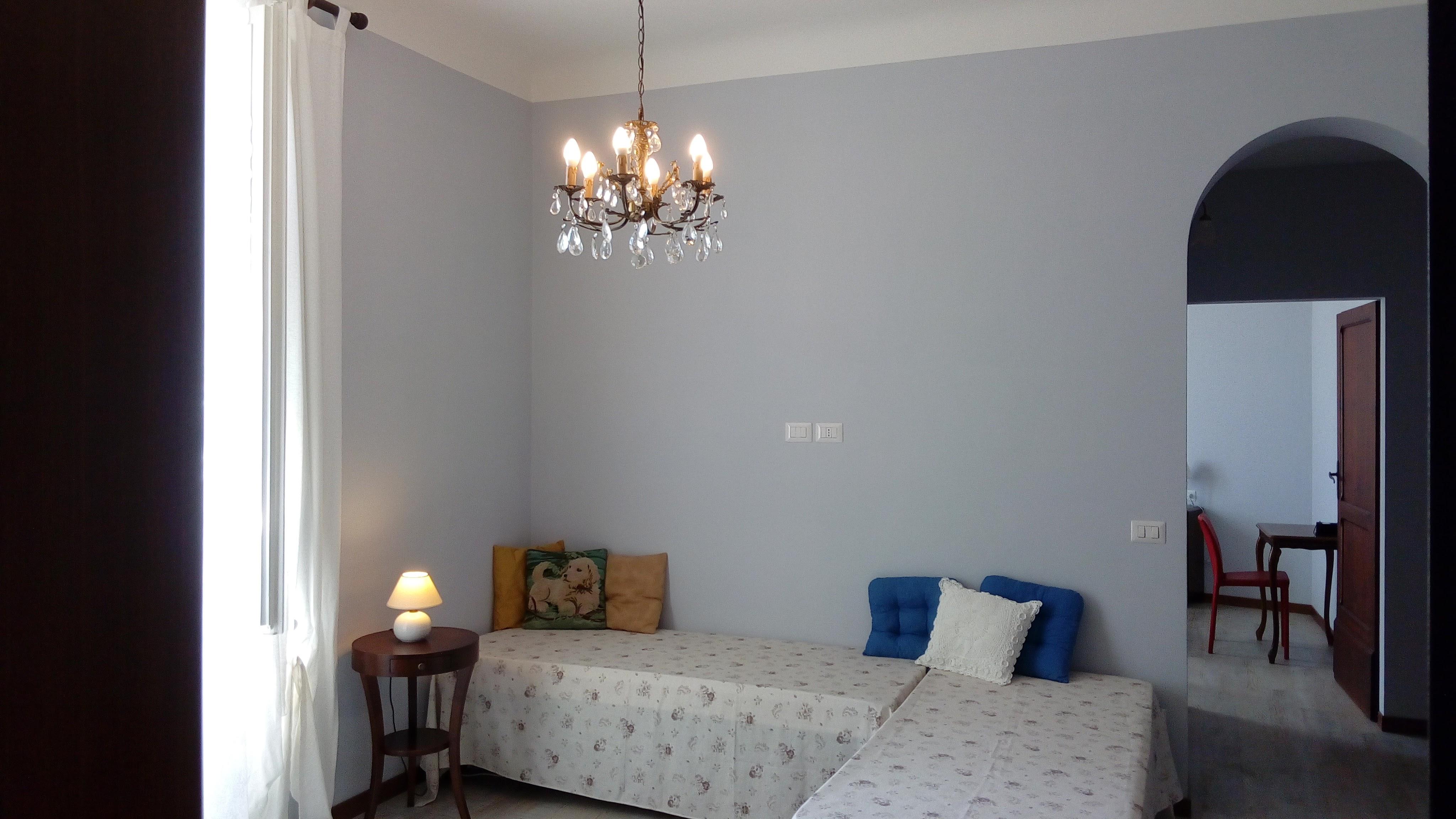 appartamento azzurro - la casa sul borgo - Soggiorno Azzurro