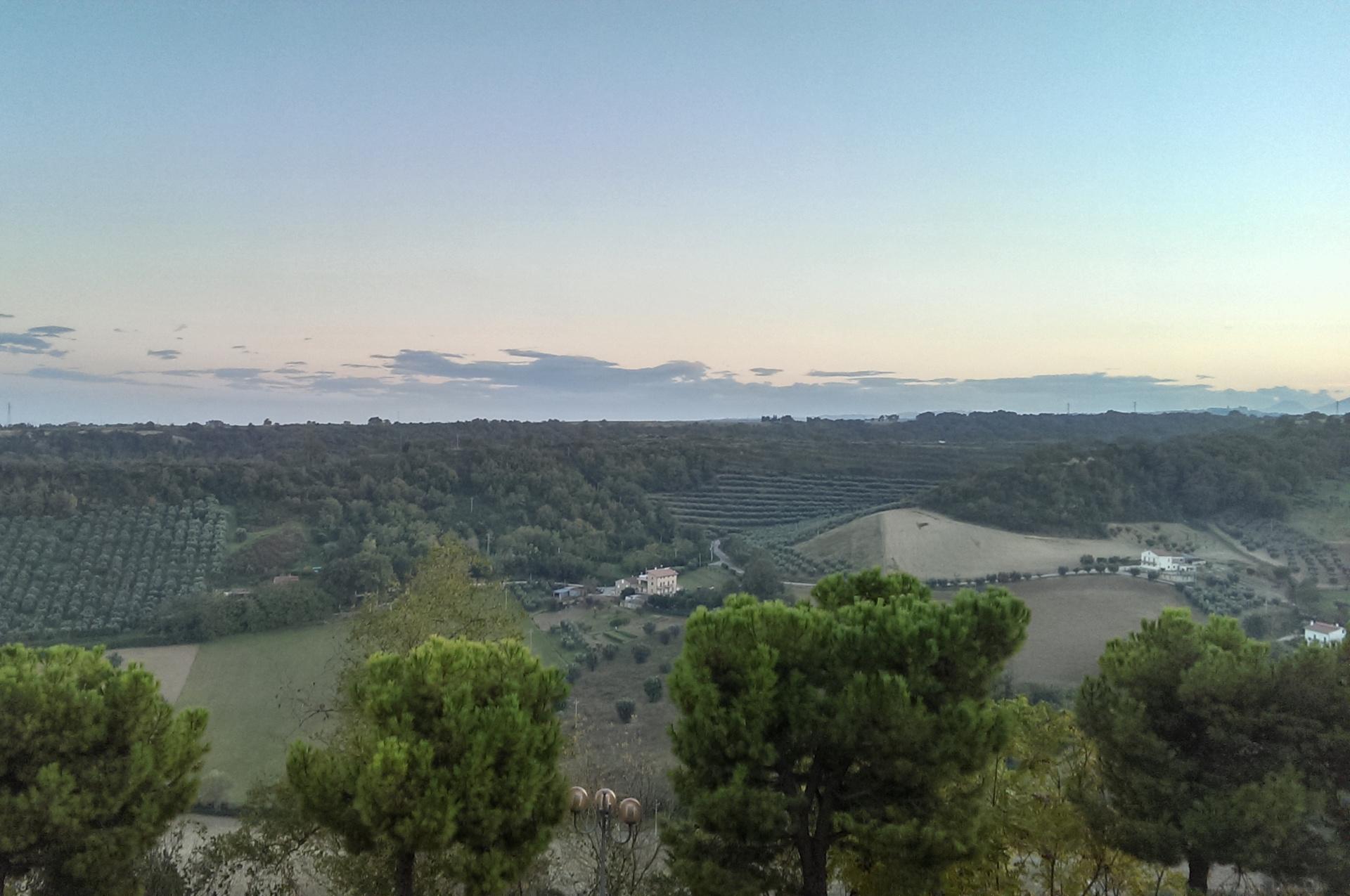 Panorama Vista di Monte Maggio da Lapedona